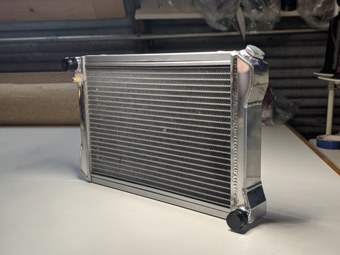 Austin Healey Sprite Cross flow Aluminum radiator for later Spridgets  - Bugeye
