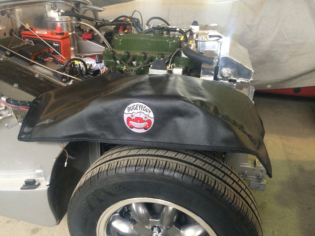 Austin Healey Sprite Scratch-proof your Bugeye engine bay with our custom inner fender protectors! Gifts - Bugeye