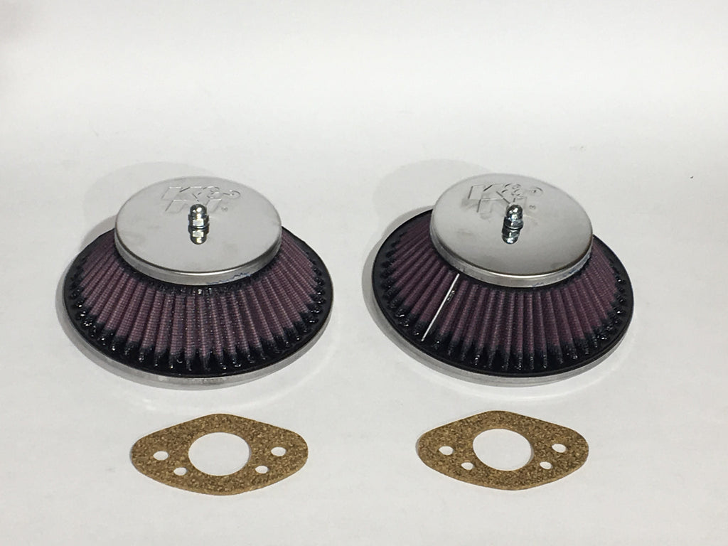 Austin Healey Sprite K&N Air Filters for HS2 Carburetors (sold as a pair) Mechanical - Bugeye