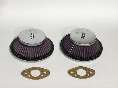 Austin Healey Sprite K&N Air Filters for HS2 Carburetors Mechanical - Bugeye