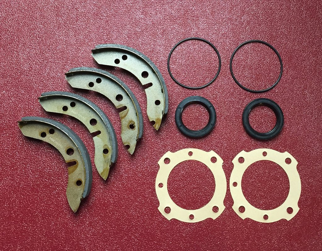 "Austin Healey Sprite ""Wet"" rear brake shoe rehab kit  - Bugeye"