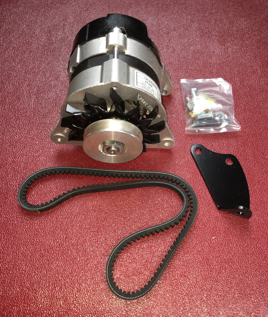 Austin Healey Sprite Bugeye Sprite Alternator Conversion Kit, with pulley installed  - Bugeye