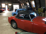 Austin Healey Sprite Restore your original soft window Bugeye Side Curtains Exterior - Bugeye