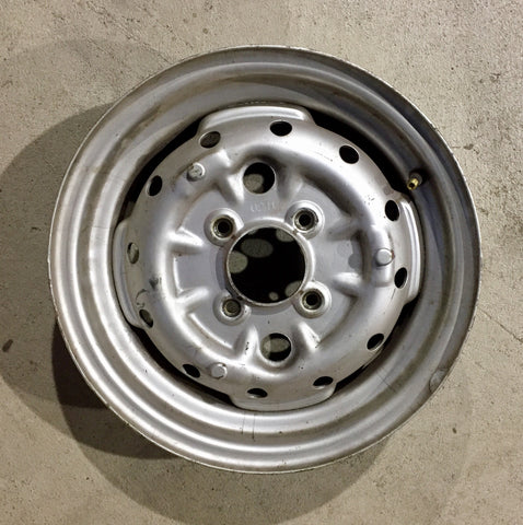 Austin Healey Sprite Used Original Bugeye Sprite Steel Wheel Wheels - Bugeye