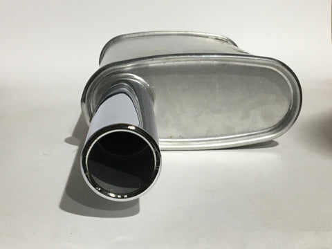 Austin Healey Sprite Sport Muffler - with Chrome Tip Exhaust - Bugeye