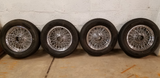 Mount and balance set of four tires