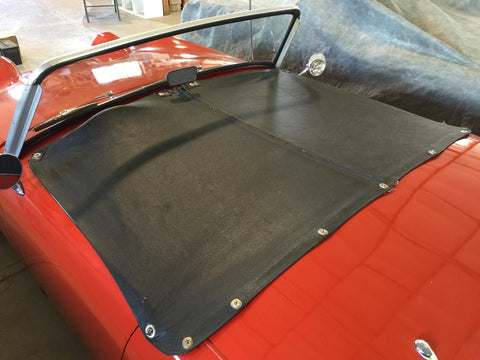 Bugeye Sprite Short Tonneau, Pebble Grain Vinyl