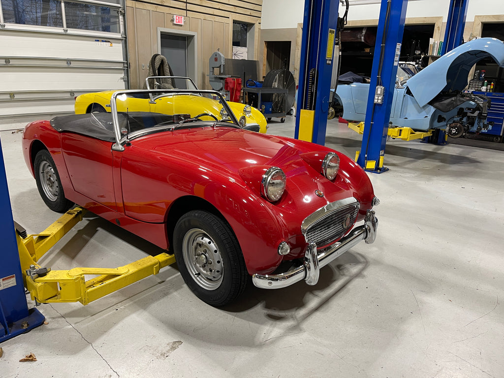 Bugeyeguy Parts Store, the Austin Healey Sprite specialists