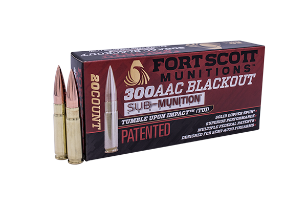 300 Blackout Sub-Munition SCS® TUI™ - 190Gr Rifle Ammo/Bulk Ammo