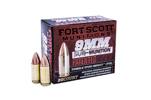 9MM Sub-Munition™ TUI™ - 125Gr Handgun Ammo