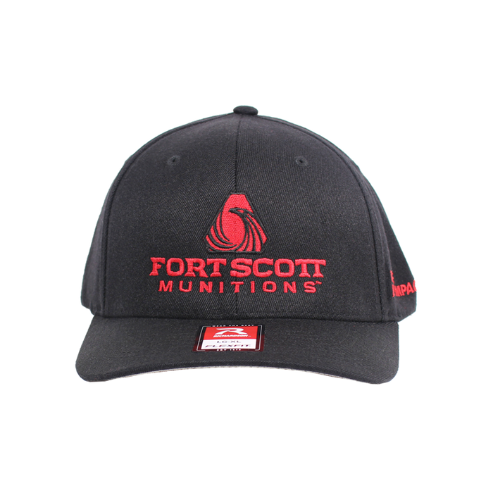 FSM® | Black/Red FlexFit® Hat