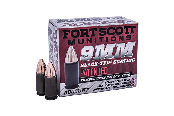9mm Luger Tpd 9 Tumble Upon Impact Handgun Ammo Fort Scott Munitions