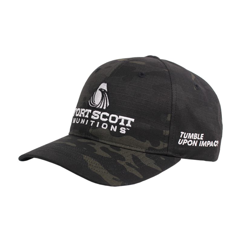 FSM® | Black Multicam Velcro Hat