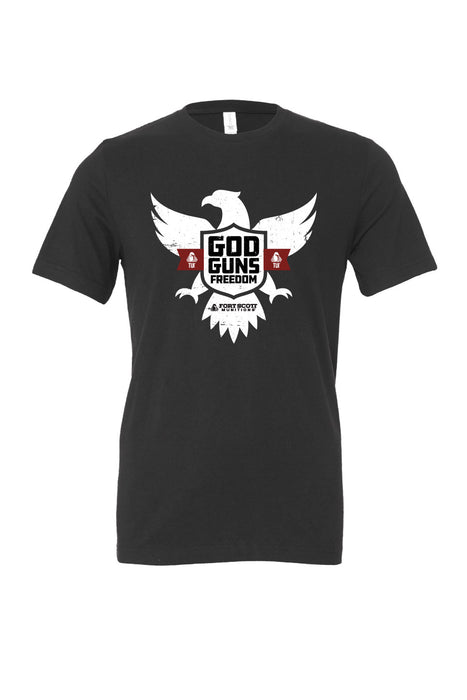 God Guns Freedom t-shirt