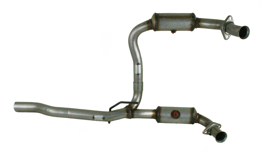 Pacesetter 08-12 Jeep Liberty, 08-11 Dogde Nitro, 3.7L, Y-Pipe 324320