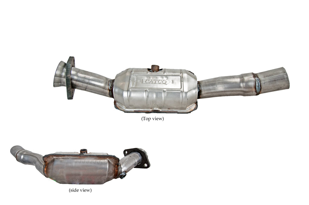 For 04-09 Vanden Plas XJ8 XJR V8 Pass Side Catalytic Converters With Pipe USA