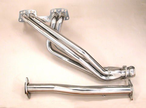 Pacesetter 90-95 Toyota P/U, 4Runner 4WD PaceSetter Headers w/ARMOR*Coat 72C1183