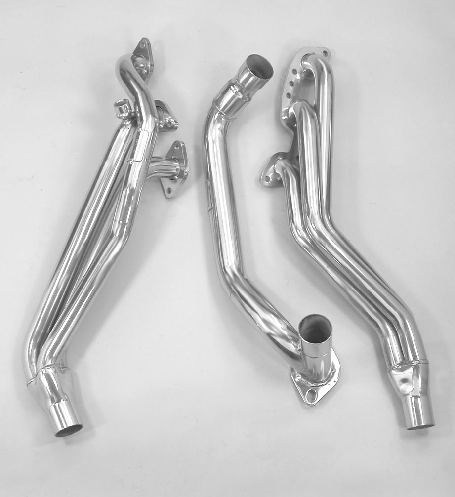 Pacesetter 90-95 Nissan Hardbody, Pathfinder PaceSetter Headers w/ARMOR*Coat 72C1197