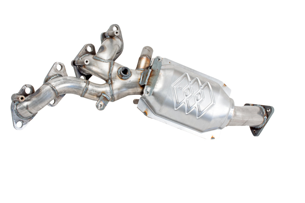 Non C.A.R.B. Compliant Pacesetter 757749 Manifold Raw Steel Direct Fit Catalytic Converter 1998-2000 Toyota RAV4 L4 2.0 Front