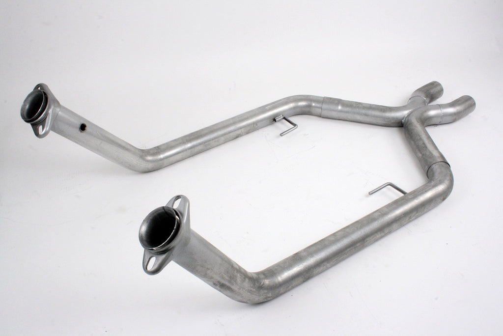 Pacesetter Off Road X-pipe, 2005-10 Mustang GT 82-1149