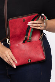 Medellin Convertible Belt Bag - Red