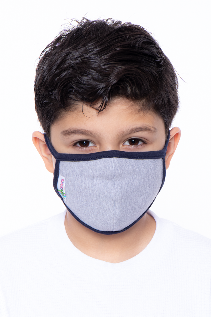 Kids Washable Bobby Jack Face Mask - Ages 4 - 11 - Curvy Sense