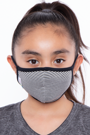 Curvy Sense -Plus_Size_Womens- Kids Washable Bobby Jack Face Mask - Ages 4 - 11