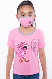 Bobby Jack Kids Mask & Shirt Set - If You Can Read This ...