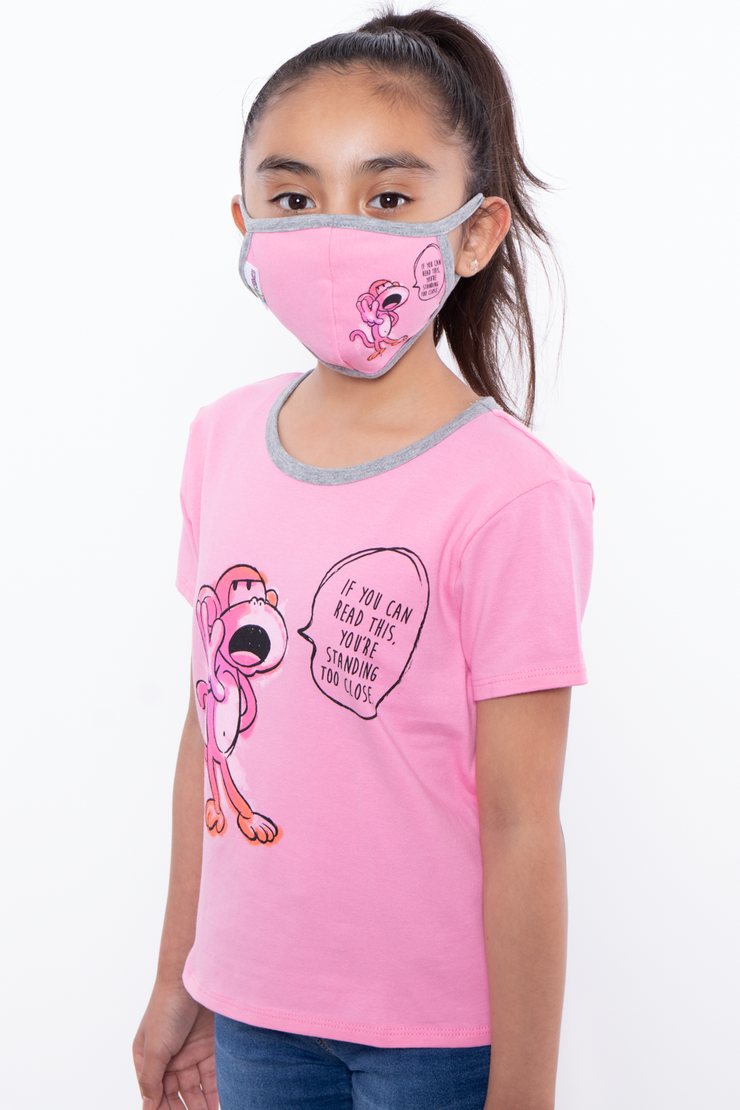 Bobby Jack Kids Mask & Shirt Set - If You Can Read This ... - Curvy Sense