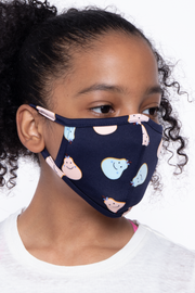 Curvy Sense -Plus_Size_Womens- Kids Washable Fun Patterns Face Mask ( Ages 4 - 11 ) -  Happy Pears