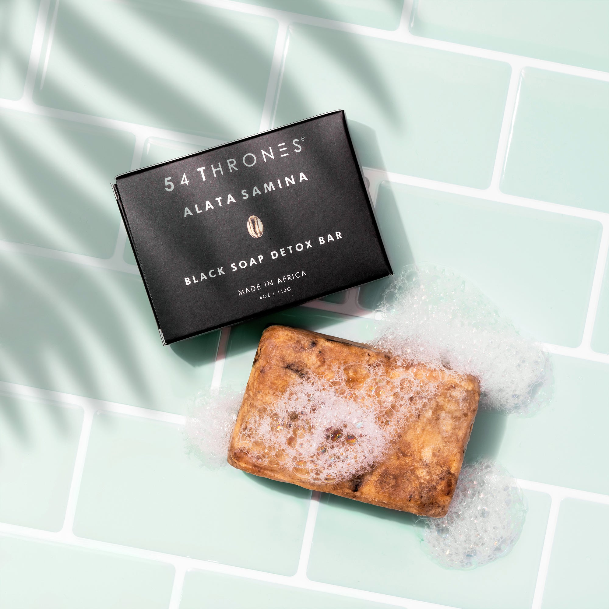 ALATA SAMINA: Black Soap Detox Bar