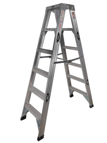 OSKA 150kg Tradesman Aluminium Trestle Heavy Duty 5 Step Ladder