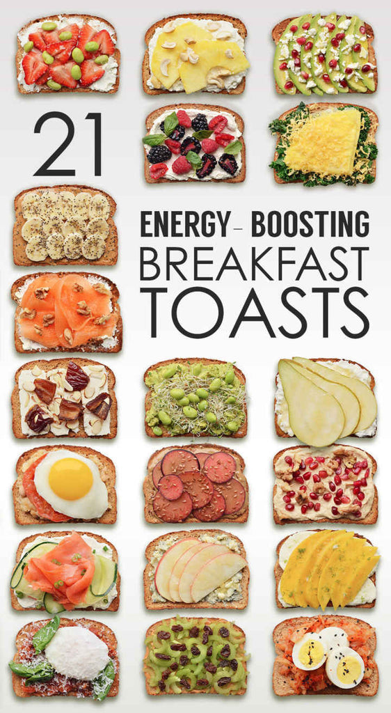 21 ENERGY-BOOSTING BREAKFAST TOAST
