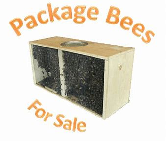 3 lb. Package Bees. PICK UP ONLY. Pick up after April 17th
