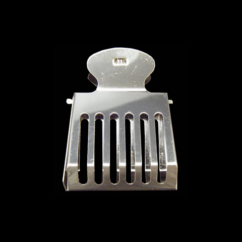 Queen Clip Catcher in Stainless Steel