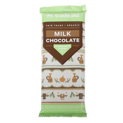 Cardamon And Orange Milk Chocolate (12 x 100g)