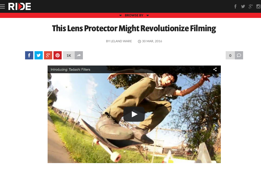 Revolutionize filming!?!