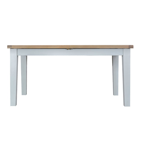 Cotswold 1.6 Butterfly Extending Table - Grey Painted