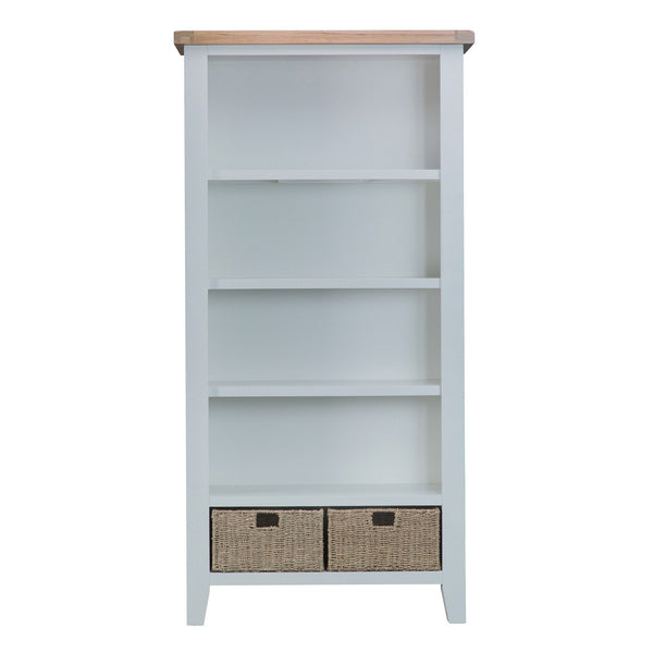 Cotswold Large Bookcase - Grey Painted