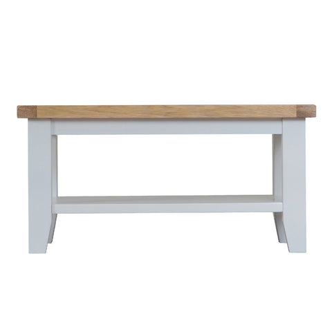 Cotswold Small Coffee Table - Grey Painted