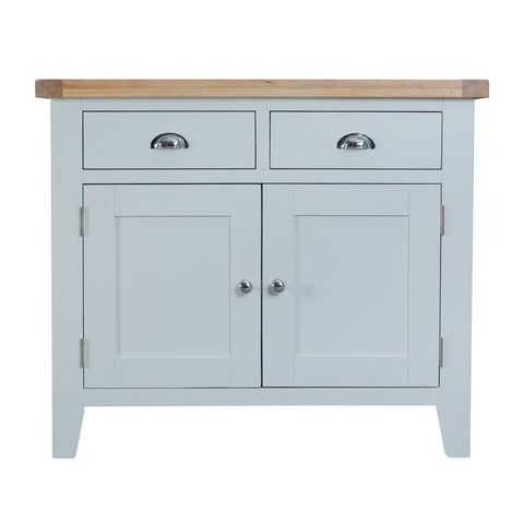 Cotswold 2 Door 2 Drawer Sideboard - Grey Painted