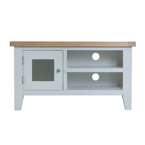 Cotswold Standard TV Unit - Grey Painted