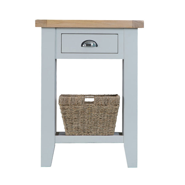 Cotswold Telephone Table - Grey Painted
