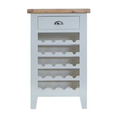 Cotswold Wine Cabinet - Grey Painted