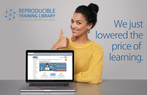 Price Lowered on Reprorducible Training Library