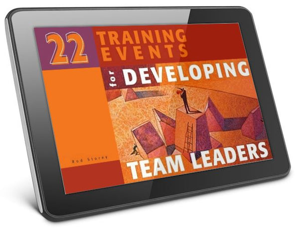 22 Training Events for Developing Team Leaders Digital
