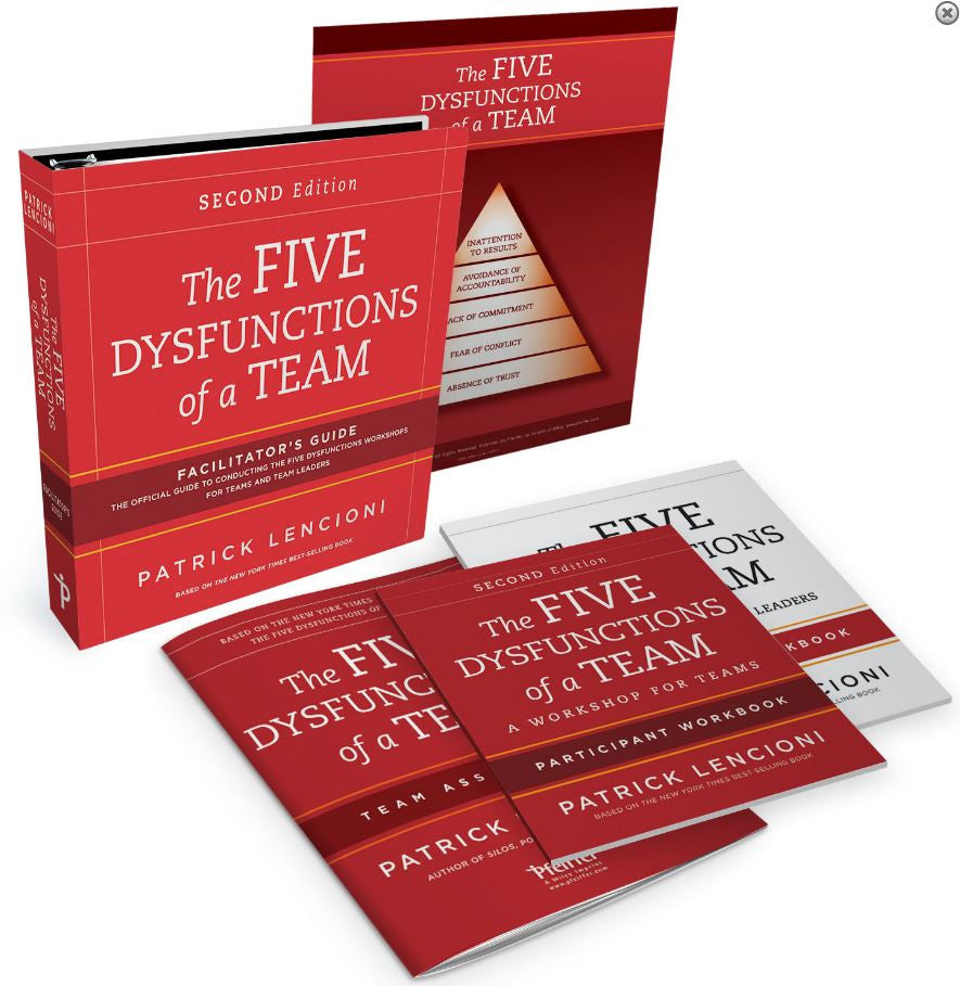 The Five Dysfunctions of a Team Facilitator Set