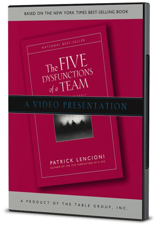 The Five Dysfunctions of a Team Video