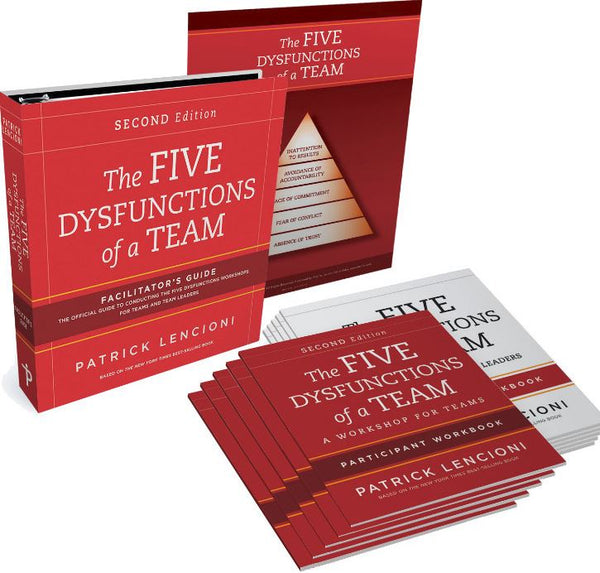 The Five Dysfunctions of a Team - Facilitator Set