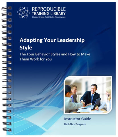 Adapting Your Leadership Style